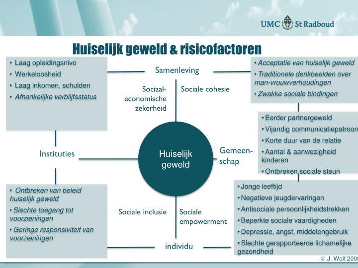 Huiselijk geweld & risicofactoren