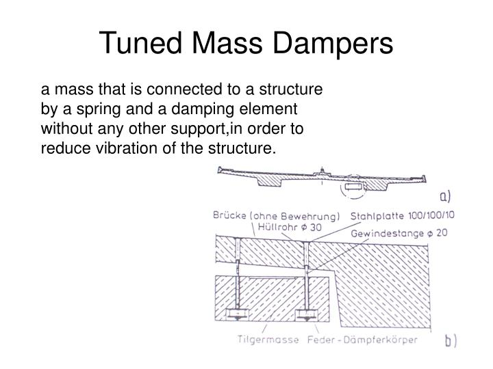 tuned mass dampers n.