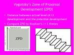 vygotsky s zone of proximal development zpd