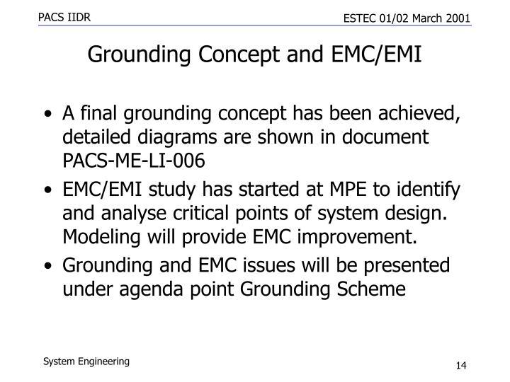 Grounding Concept and EMC/EMI