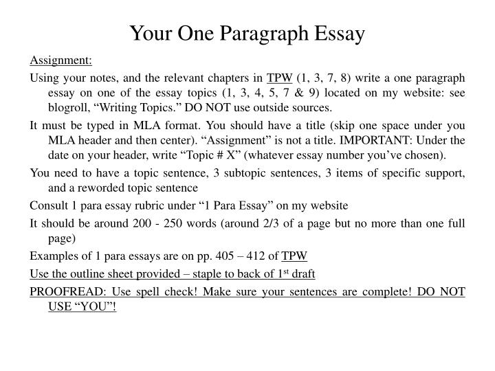 Do My Chemistry Assignment Your One Paragraph Essay Essay On Business Ethics also C Programming Assignment Help Ppt  Please Take Notes During This Presentation Powerpoint  Thesis Statements Examples For Argumentative Essays