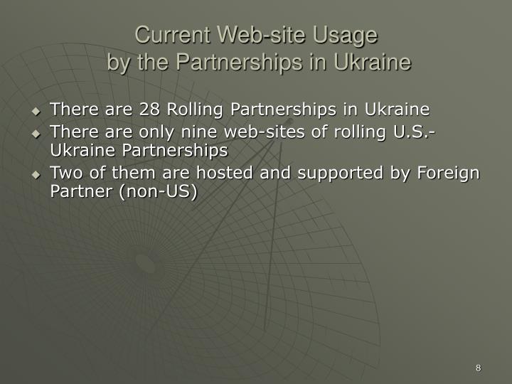 Current Web-site Usage