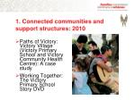 1 connected communities and support structures 2010
