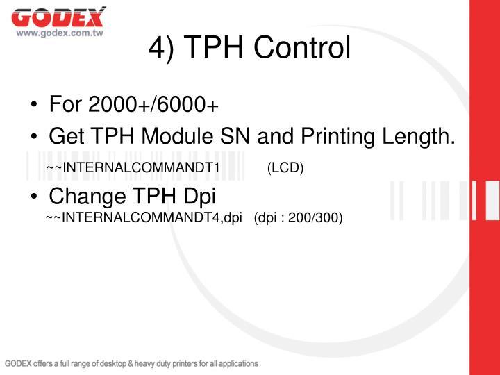 4) TPH Control