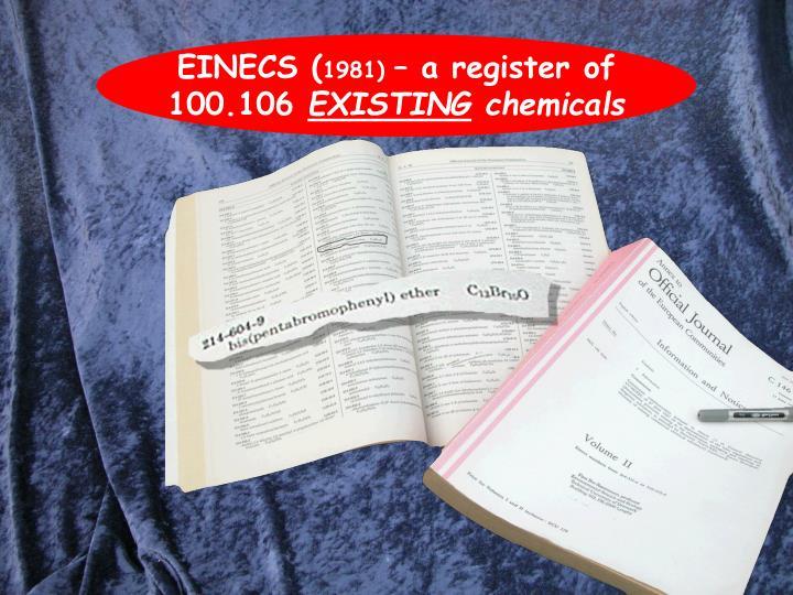 EINECS (