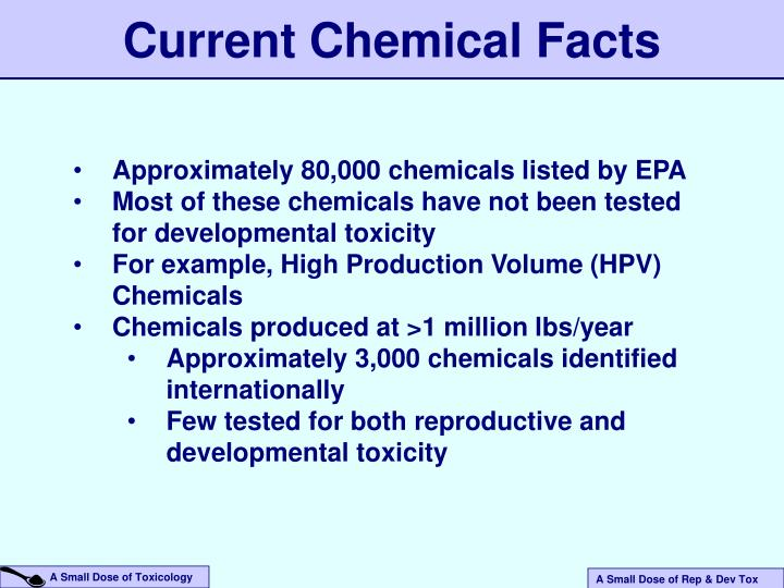 Current Chemical Facts
