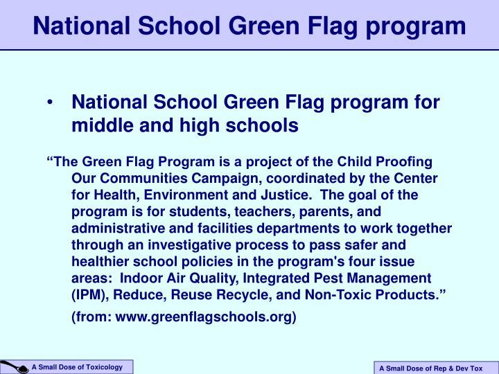 National School Green Flag program
