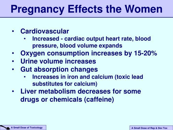 Pregnancy Effects the Women