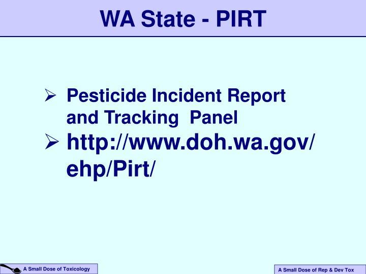 WA State - PIRT