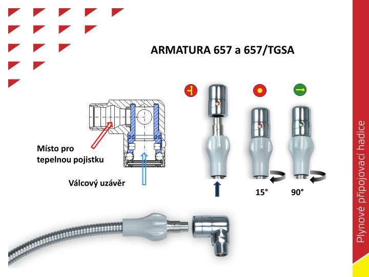 ARMATURA 657 a 657/TGSA