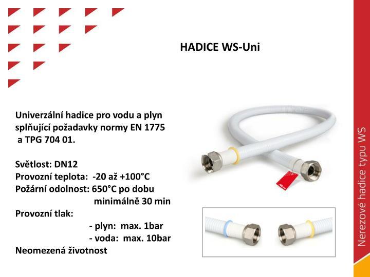 HADICE WS-Uni