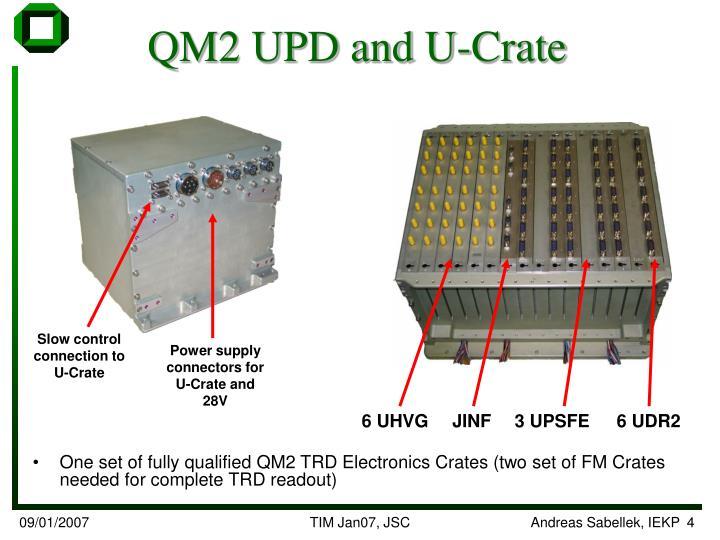 QM2 UPD and U-Crate