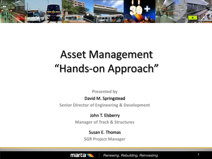 asset management hands on approach n.