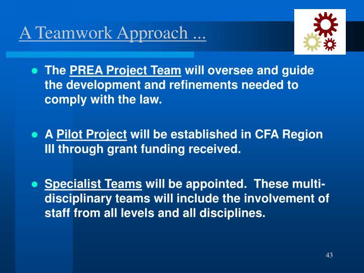 A Teamwork Approach ...