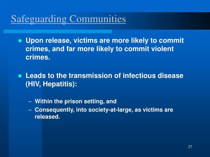 Safeguarding Communities