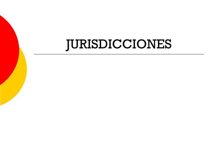 JURISDICCIONES