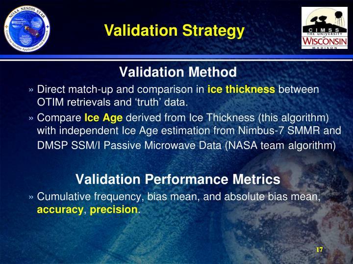 Validation Method