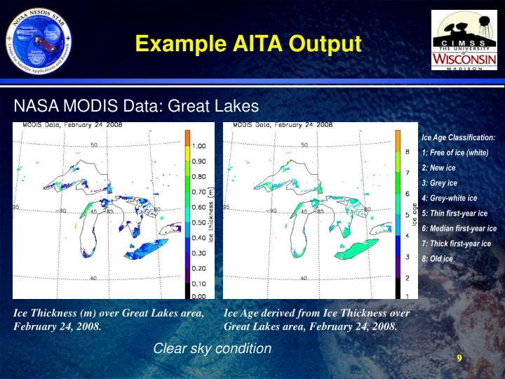 Example AITA Output