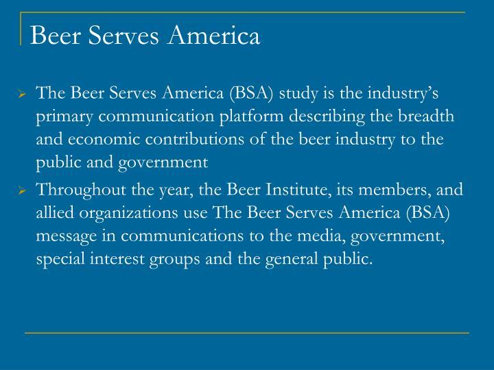 Beer Serves America