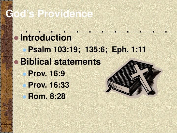 God s providence2