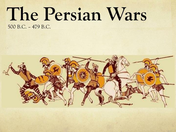 the persian wars n.