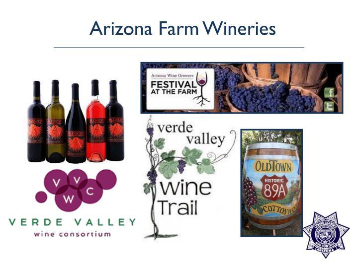 Arizona Farm Wineries