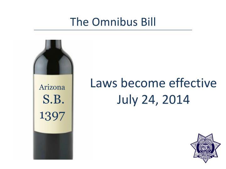 The Omnibus Bill