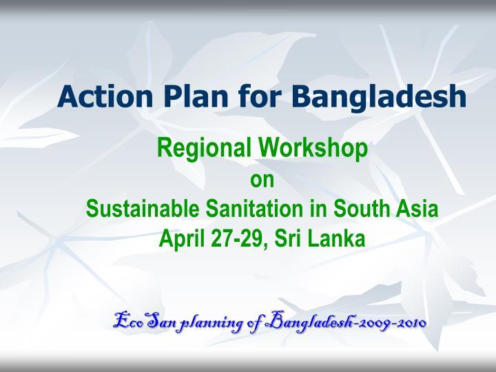 Action Plan for Bangladesh