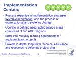 implementation centers3