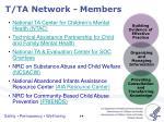 t ta network members1