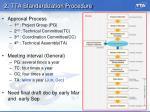 2 tta standardization procedure