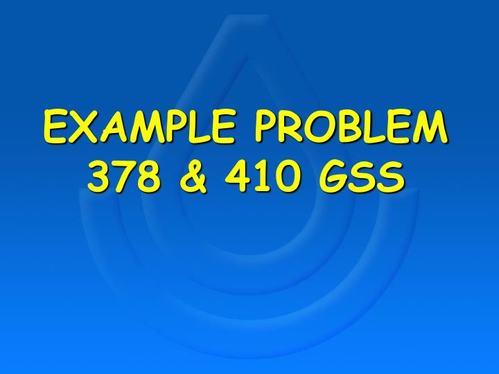 example problem 378 410 gss n.