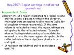 req 0307 region settings in reflected geometries