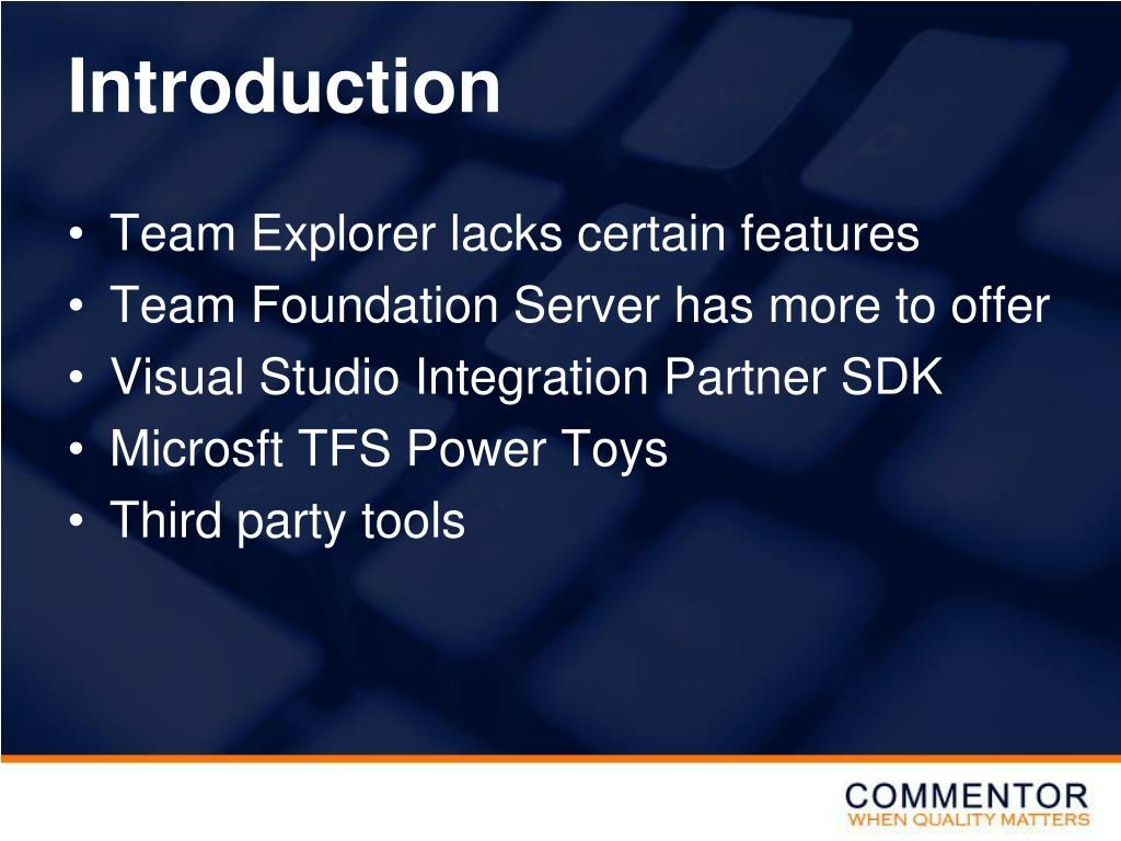 PPT - Visual Studio Team System PowerPoint Presentation - ID