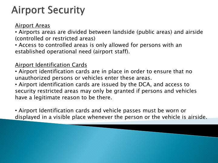 Airport Areas