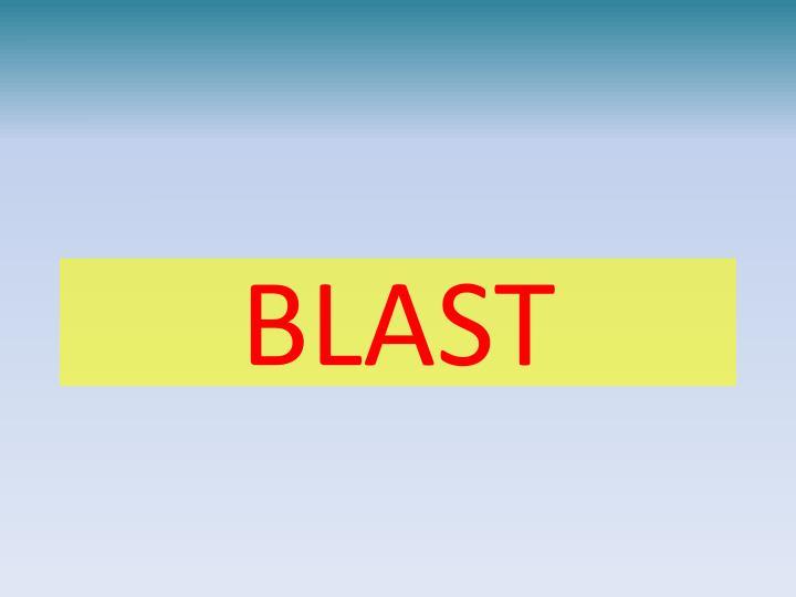 blast n.