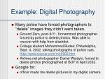example digital photography