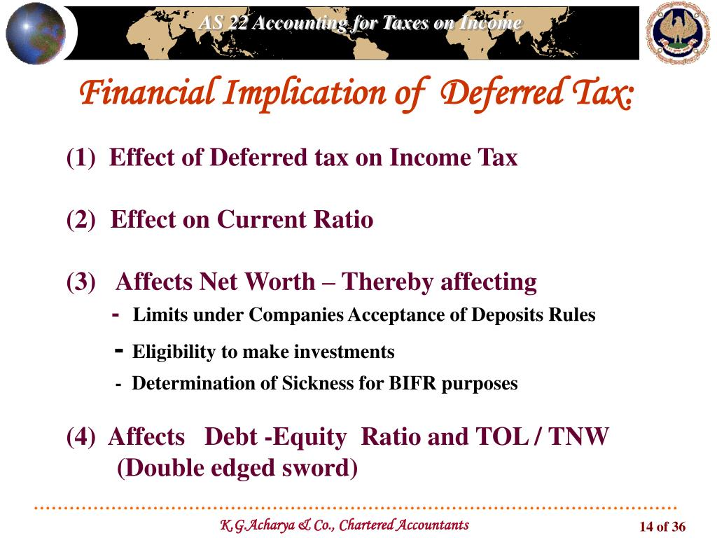 """PPT - """"Deferred Tax"""" PowerPoint Presentation - ID:3384922"""