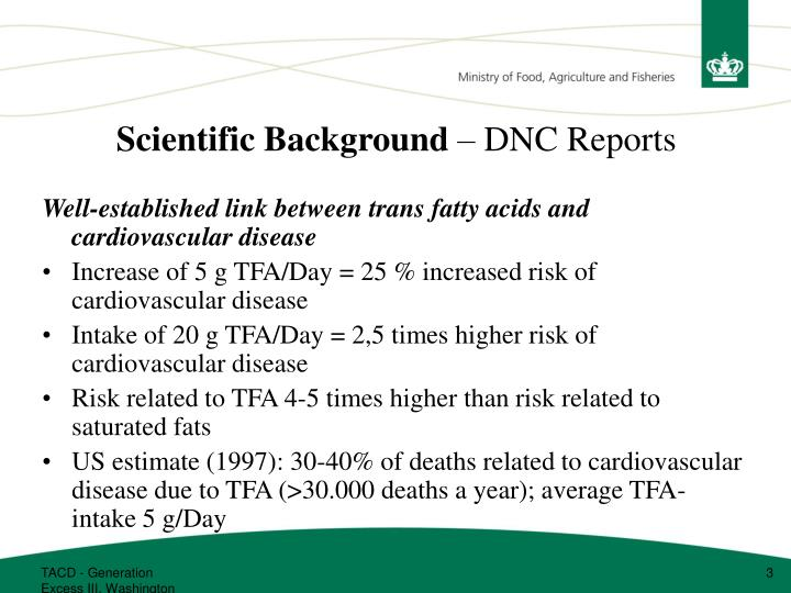 Scientific background dnc reports