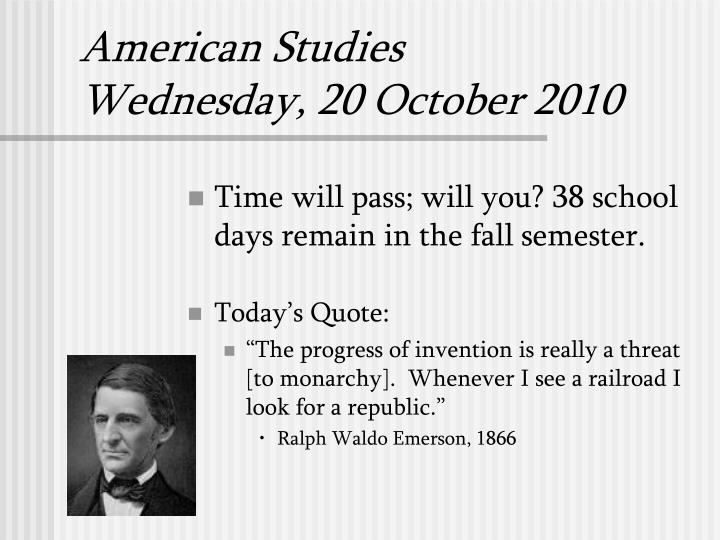 american literature fall semester study guide View test prep - 303a_semester final study guide from english 303b at k12 american literature study guide know the answers to these questions before taking the final and you will do awesome unit 1.