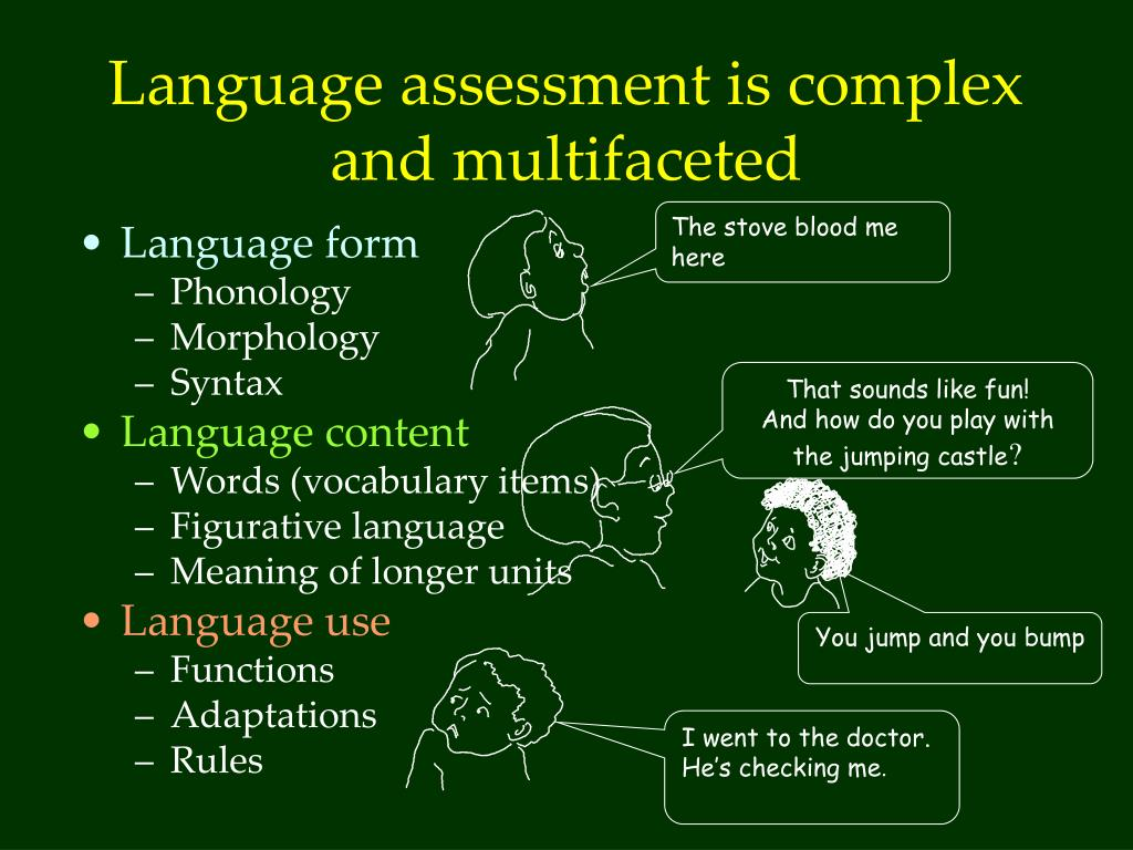 PPT - Language impairment and language difference in EAL pre