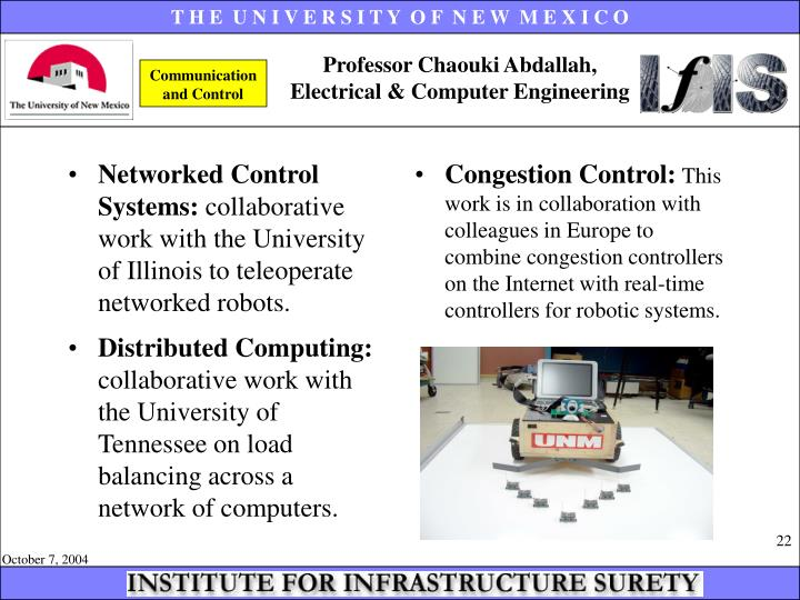 Networked Control Systems: