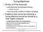 turing machines