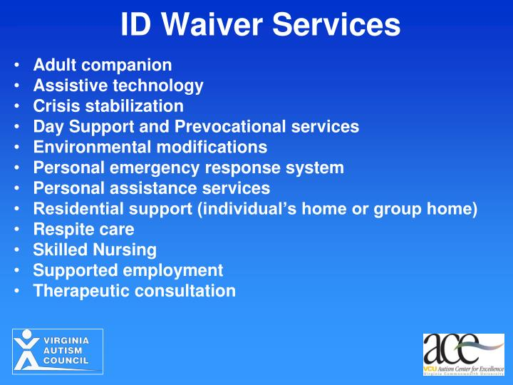ID Waiver Services