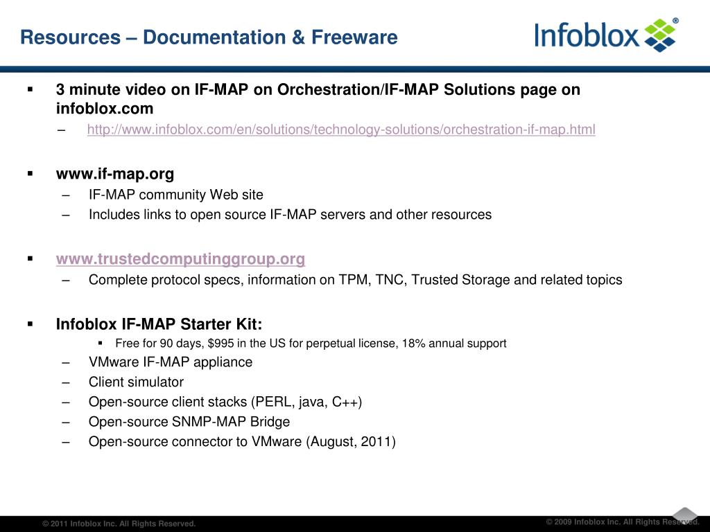 PPT - IF-MAP and GENI Richard Kagan – Infoblox PowerPoint