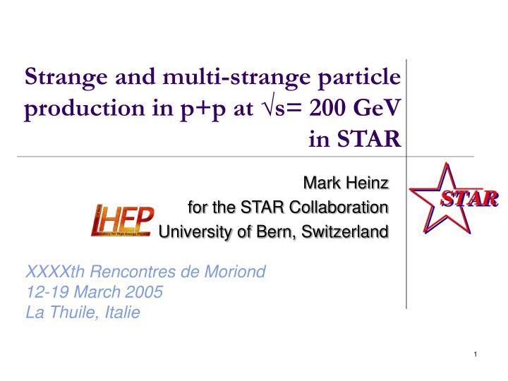 strange and multi strange particle production in p p at s 200 gev in star n.