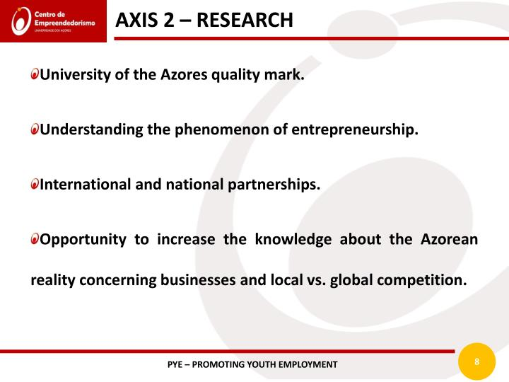 AXIS 2 – RESEARCH