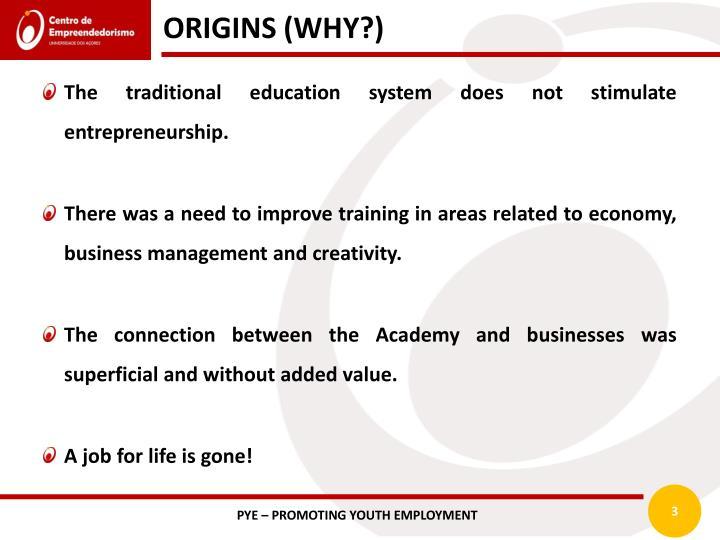 Origins why