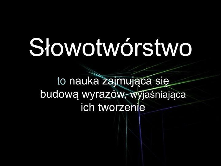 s owotw rstwo n.