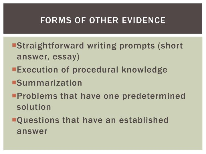 Forms of Other